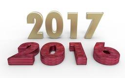 Новый Год 2017 Стоковая Фотография