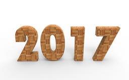 Новый Год 2017 Стоковое Изображение