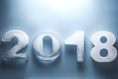 Новый Год 2018 стоковое изображение rf