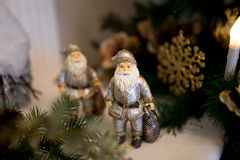 новый год santa Стоковые Фотографии RF