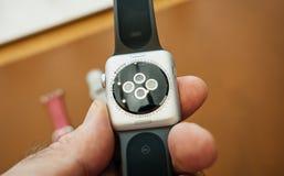 Новый датчик gps звонка lte серии 3 вахты Яблока Стоковые Фотографии RF