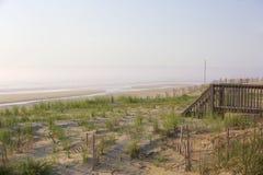 Новый день на Seashore Стоковые Фотографии RF