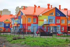 Новый детский сад зданий Стоковое Изображение
