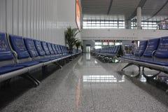 Новый железнодорожный вокзал CRH в Wuhu (Wuhu, Китае) Стоковые Изображения