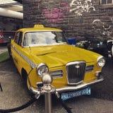 новый желтый цвет york таксомотора Стоковые Изображения
