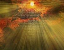 новый завет неба Стоковые Изображения RF
