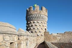Новый замок Manzanares el реальный Стоковая Фотография RF