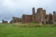 Новый замок Slains, Aberdeenshire, Шотландия Стоковые Изображения RF