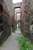 Новый замок Slains, Aberdeenshire, Шотландия Стоковое Изображение RF