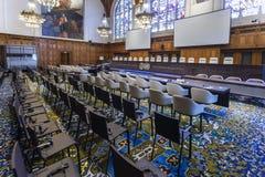 Новый зал судебных заседаний Международного суда Стоковые Фото