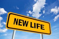 Новый знак жизни Стоковые Изображения RF