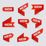 новый знак новые знаки иллюстрация вектора