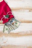 Новый дизайн 100 долларовых банкнот Стоковая Фотография