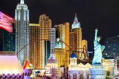 Новый Йорк-новый Йорк - в Вегас Стоковое Изображение