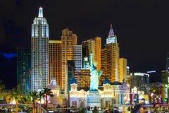Новый Йорк-новый Йорк - в Вегас Стоковое Изображение RF