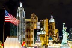 Новый Йорк-новый Йорк - в Вегас Стоковая Фотография