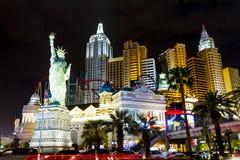 Новый Йорк-новый Йорк - в Вегас Стоковая Фотография RF
