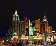 Новый Йорк-новый Йорк - в Вегас Стоковые Изображения
