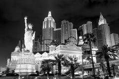 Новый Йорк-новый Йорк - в Вегас Стоковое фото RF