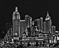 Новый Йорк-новый Йорк - в Вегас Стоковые Фото