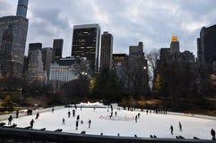 Новый каток w Central Park Jork Wollman Стоковые Фотографии RF