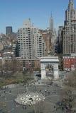 новый квадратный вашингтон york Стоковые Фото
