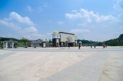 Новый королевский дворец Istana Negara стоковые фото
