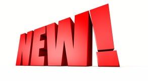 новый красный цвет Стоковая Фотография RF