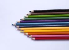 Новый красочный карандаш цвета Стоковое Изображение RF