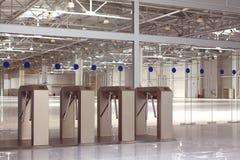 Новый крупный план системы контроля допуска Стоковая Фотография RF
