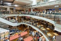 Новый магазин и ресторан EATALY в милане, Италии Стоковые Фотографии RF