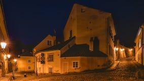 Новый мир, Прага, чехия Стоковые Фото
