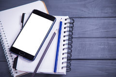 Новый мобильный телефон Стоковые Фотографии RF