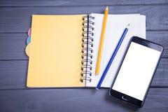 Новый мобильный телефон Стоковые Фото