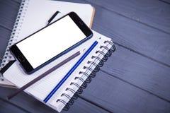 Новый мобильный телефон Стоковое фото RF