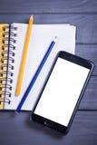 Новый мобильный телефон Стоковая Фотография