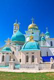 Новый монастырь Иерусалима (воскресение новый Иерусалим) Istra зима России зоны открытки kremlin moscow dmitrov собора предположе Стоковая Фотография RF