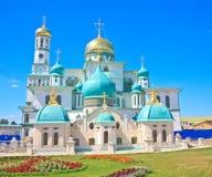 Новый монастырь Иерусалима (воскресение новый Иерусалим) Istra Стоковое фото RF