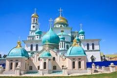 Новый монастырь Иерусалима, Istra Стоковая Фотография RF