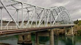 Новый мост Александра Стоковое фото RF