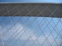 Новый мост в troja Праги в чехии Стоковые Фотографии RF