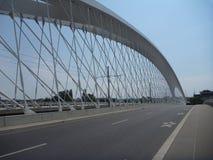 Новый мост в troja Праги в чехии Стоковая Фотография RF