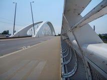 Новый мост в troja Праги в чехии Стоковое Изображение RF