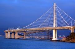 Новый мост залива Окленд в Сан-Франциско - Калифорнии Стоковая Фотография RF