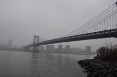 Новый мост Jork Манхаттана Стоковые Изображения