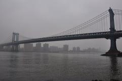Новый мост Jork Манхаттана Стоковое Изображение
