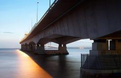 Новый мост Severn Стоковое фото RF