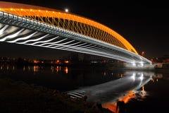 Новый мост Troja стоковые фотографии rf