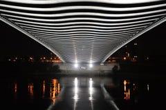 Новый мост Troja стоковое изображение
