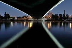 Новый мост Troja стоковое изображение rf